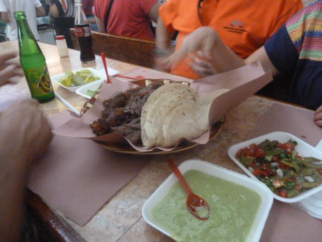 Carne Asada lunch, Oaxaca, Mexico