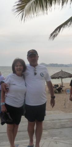 Guada and Ricardo, Acapulco