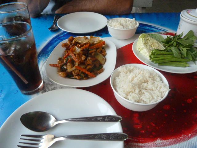 Dinner - cashew chicken