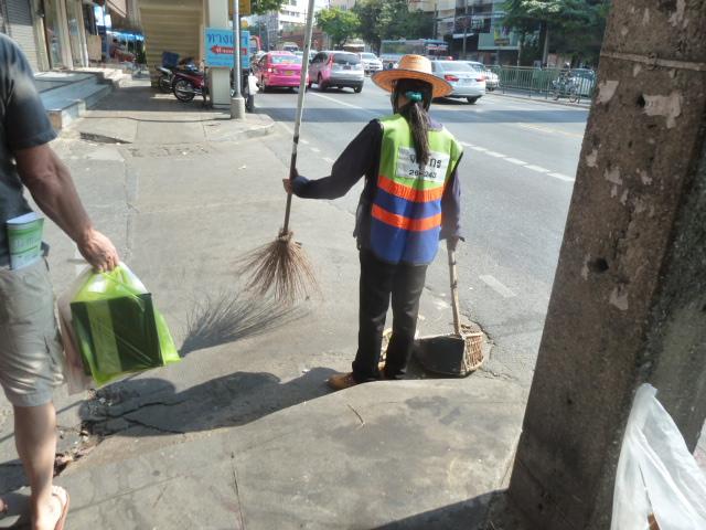 Street sweeper - Bangkok