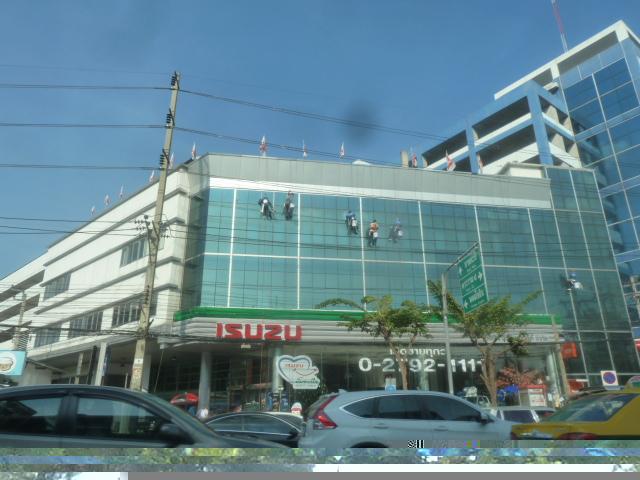 Window washers - Bangkok