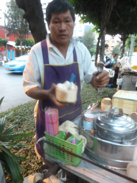Coconut ice cream - Bangkok
