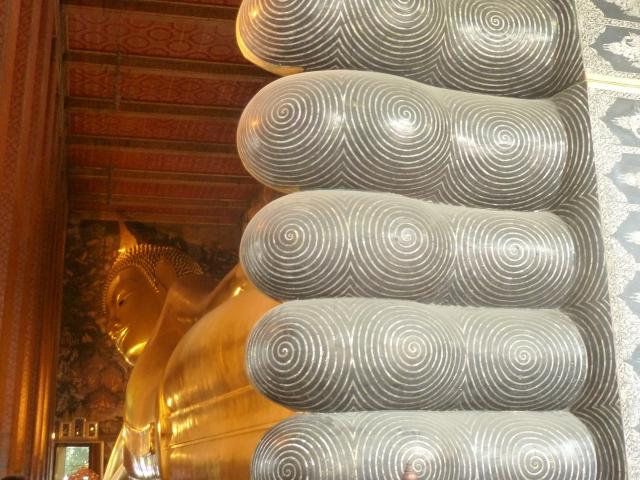 Reclining Budha, Wat Pho, Bangkok