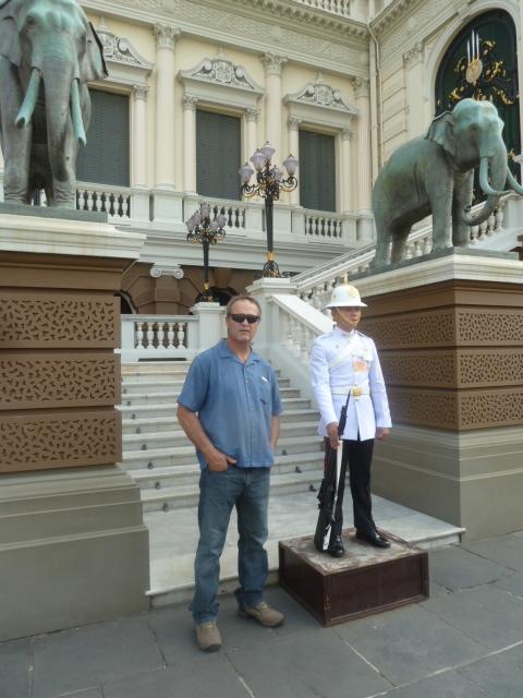 Palace Guard, Grand Palace, Bangkok