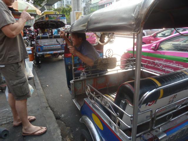 Our Tuk-tuk ride,Bangkok