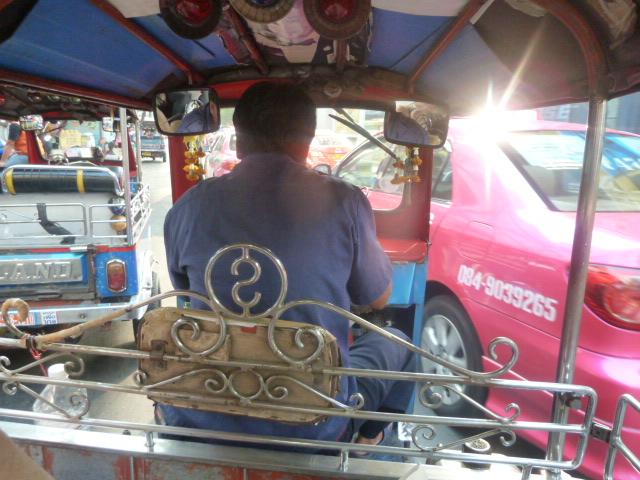 Our Tuk-tuk ride, Bangkok