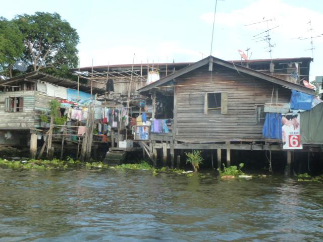 RIverboat/canal ride, Chaya Phraya River, Bangkok