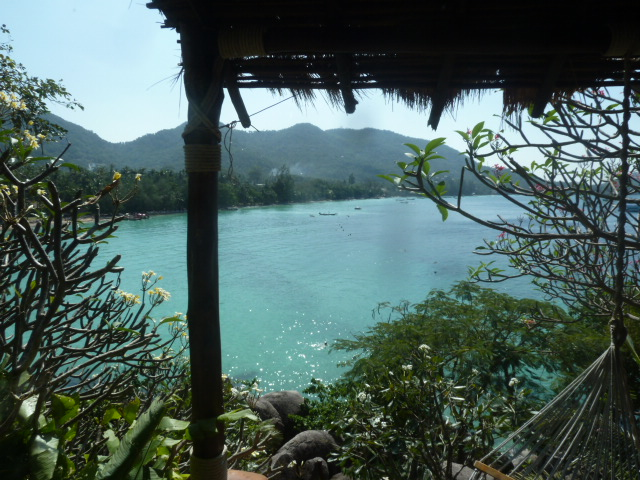 View from the room, Koh Tao Cabanas