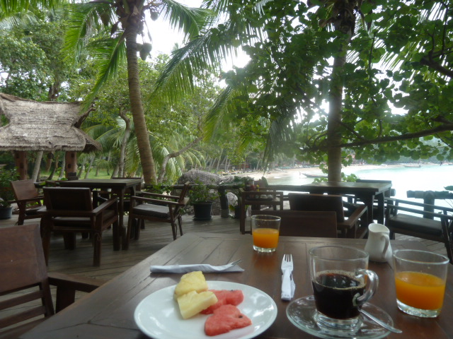 Breakfast spot, Koh Tao