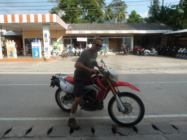 Our transportation on Koh Tao
