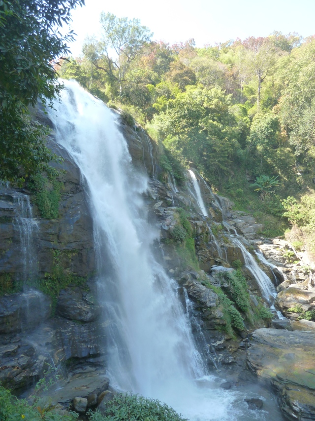 Wachirathan Waterfall, Doi Ithanon National Park, Thailand