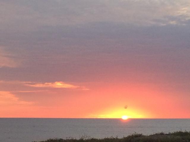beautiful sunset at Todos Santos