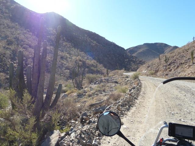 dirt section below San Felipe
