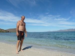 swimming in the Sea of Cortez