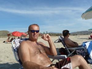 At the beach - Playa Cerritos